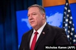 Sekretari amerikan i Shtetit, Mike Pompeo. Foto nga arkivi.