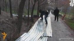 «Վիշապների կոթողներ» այգու ցանկապատը քանդեցին