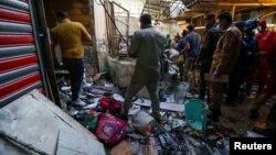 انتحاری صبح روز عرفه در یک بارازهای مزدحم شهرک شیعه نشین صدر در عراق.