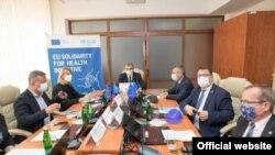 """Proiectul face parte din inițiativa Uniunii Europene""""Solidari pentru Sănătate"""", și e pus în practică în țările din Parteneriatul Estic."""