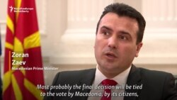Macedonian PM Links Name Issue To EU Referendum