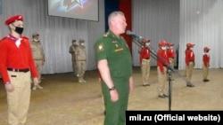 Șeful GOTR, Dmitri Zelenkov, la evenimentul de la Tiraspol