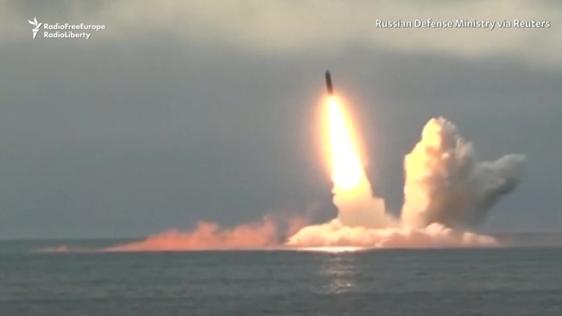 Russia Test Fires Ballistic Missiles From Submarines in Barents Sea, Arctic Ocean