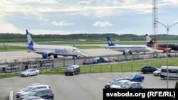 Нацыянальны аэрапорт «Менск».