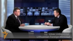 Lithuanian Foreign Minister Says Moscow Holds Key To Ukraine Crisis