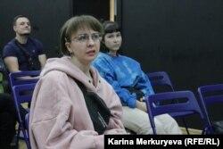 Дискуссия после лекции о гендерных стереотипах. Фото: Карина Меркурьева