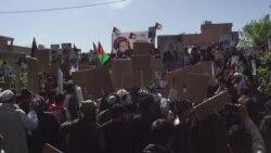 В Мазари-Шарифе прошли демонстрации сторонников Дустума и Нура