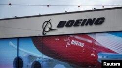 Boeing օդանավի պատկերանշանը