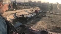 Эронда Украина учоғи қулади, 176 киши ҳалок бўлди