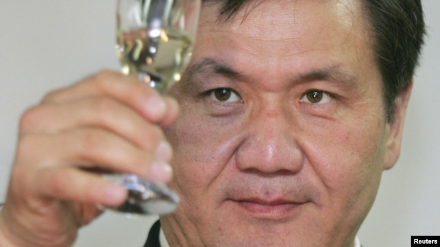 Former Mongolian President Nambar Enkhbayar