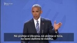 Obama kërkon nga Trumpi që ta kundërshtojë Rusinë