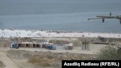 Bayraq Meydanı yaxınlığında tikinti işləri