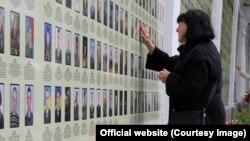 Меморіал захисників України, створений у Києві завдяки матеріалам «Книги пам'яті»