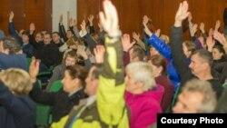Громадські слухання українців в Португалії, фото Любомира Лацика