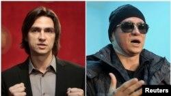 Художественный руководитель Большого театра Сергей Филин до и после нападения.