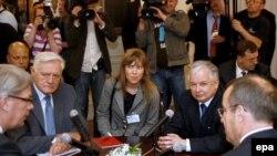 Заседание СГБМ носит чисто политическую функцию, считают эксперты. На фото: президенты Балтийских стран на встрече в Риге 22 мая 2008 года