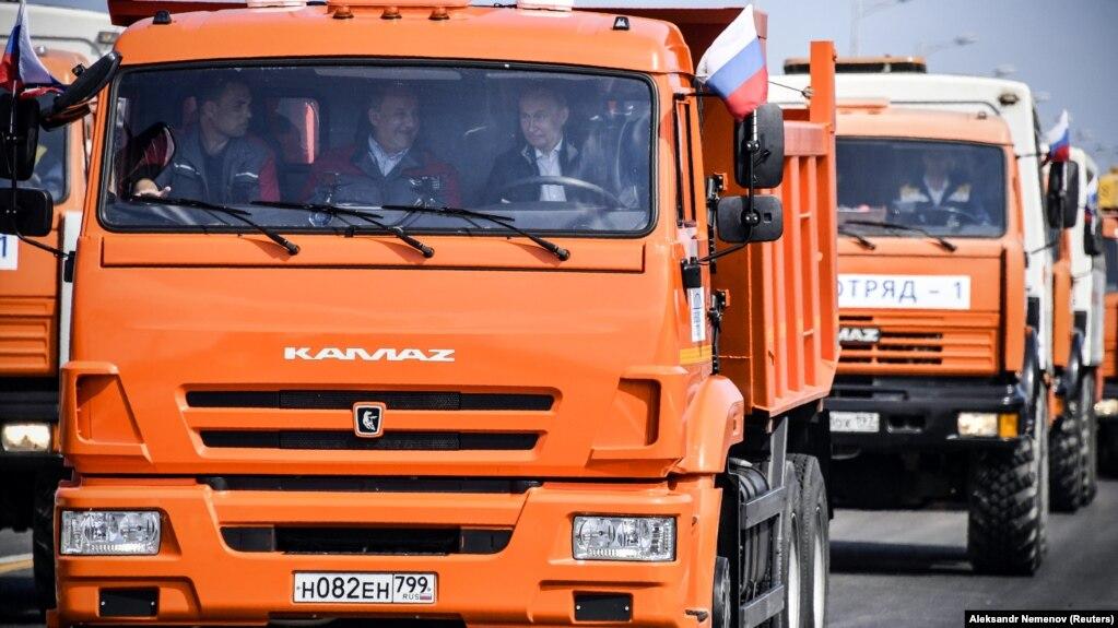В МИД Украины заявили, что будут добиваться расширения санкций из-за строительства Керченского моста