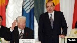 Борис Ельцин и Борис Березовский, 29 апреля 1998 года