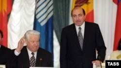 Boris Jeljcin i Berezovski