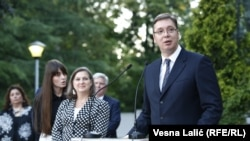 Viktorija Nuland i Aleksandar Vučić u Beogradu