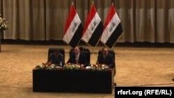 هيئة رئاسة مجلس النواب العراقي في إفتتاح دورته الأخيرة