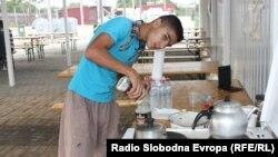 Бегалците во Табановце слават Курбан Бајрам