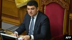 Украинаның жаңа премьер-министрі Владимир Гройсман.