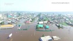 Вторая волна наводнения в Приангарье