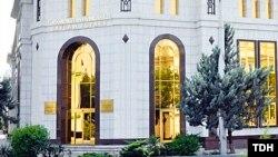 Ашғабадтағы Түркіменстанның Сайлау және референдум өткізу жөніндегі орталық сайлау комиссиясы (Көрнекі сурет).
