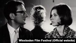 """Кадр из фильма Ингрид Решке """"Мы разводимся"""" (ГДР, 1967)"""