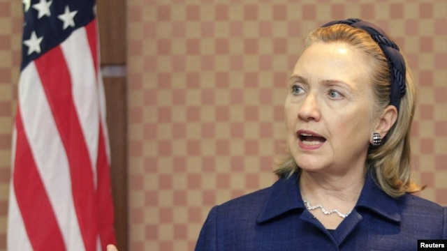 U.S. Secretary of State Hillary Clinton says advancing religious freedom around the world is a core element of U.S. foreign policy.