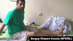Джумахон Каримов в подмосковной больнице