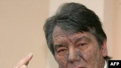 Віктор Ющенко після отруєння, 12 грудня 2004 року