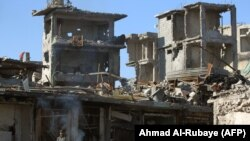 Destruction in Mosul's Old City after Iraqi forces ousted Islamic State militants.