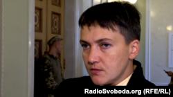Надія Савченко, народний депутат