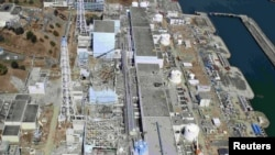 """АЭС """"Фукусима-Дайичи"""" с воздуха"""
