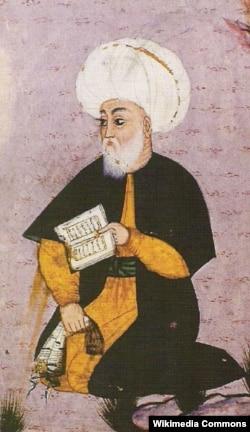 Məhəmməd Füzulinin xəyali portretlərindən biri