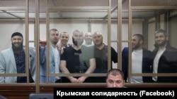 Фигуранты второго бахчисарайского «дело Хизб ут-Тахрир» в суде российского Ростова-на-Дону