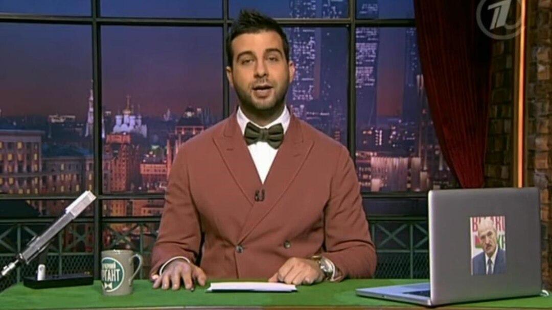 Russian TV Host 'Sorry' For Ukrainian Massacre Joke