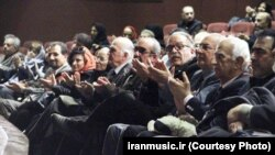 Iranian musicians monthly gathering in Tehran on January 15, 2017.