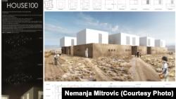 Arhitektonsko rješenje mladih crnogorskih arhitekata, 2016.