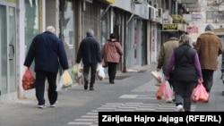 Shkup, 15 mars, 2020.