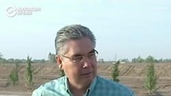 Президент Туркменистана принимает благодарности от фермеров, пока люди давятся в очередях за хлебом