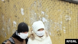 Protecting against flu in Kyiv