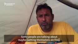 Migrants In Greece React To Possible EU-Turkey Deal