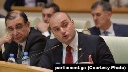 Мамука Бахтадзе грузин парламентинде. 20-июнь, 2018-жыл.