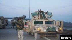 جنود عراقيون ينتشرون في غرب البلاد