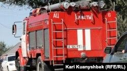 Пожарная машина. Иллюстративное фото.