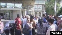 Акция проблемных заемщиков ипотечных кредитов. Алматы, 19 сентября 2016 года.