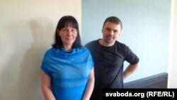 Алена Крэнь з мужам Юрыем, архіўнае фота